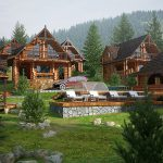 Hotel in the Carpathians