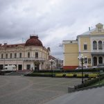 Chernivtsi-Philarmonic Square