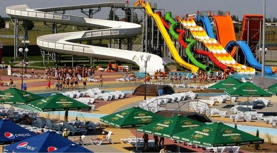 Топ 10 аквапарков Украины
