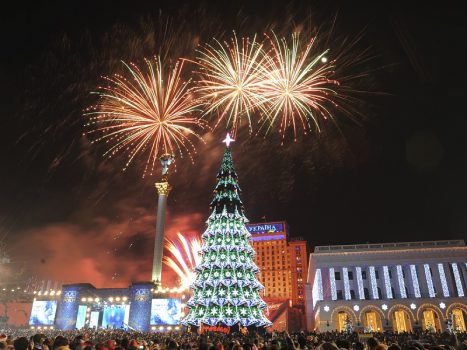 Tour Packages for a New Year ' 2016 Celebration in Ukraine