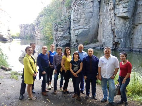 Tourist Cluster West Cherkaschyna: Buky Canyon Project