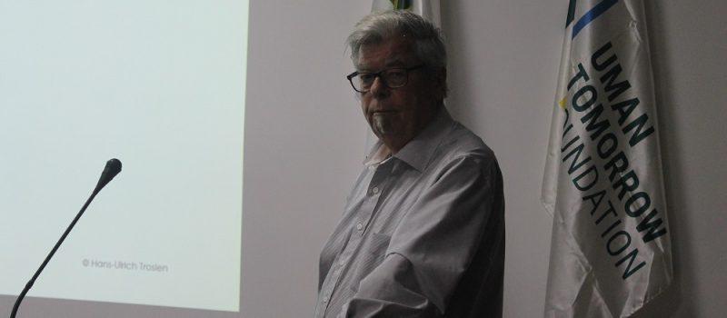 Visit of Hans-Ulrich Trosien to Uman